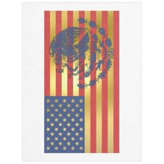 Gold Mexican American Flag Fleece Blanket - independence day of july american holiday usa patriot Mexican American Flag, Mexican Art Tattoos, Unique Boy Names, Aztec Culture, American Tattoos, Spray Painting, Paint Ideas, Yard Ideas, Independence Day