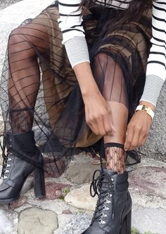 Stripes & Maxi Skirt From My Closet