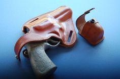 Smith & Wesson 4 barrel Revolver L,N Frame with speed loader case Holster…