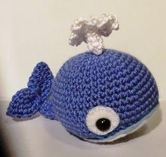Amigurumi pattern Walter the whale - Flippers and fins crochet pattern set 1 Crochet Fish, Cute Crochet, Crochet Animals, Crochet Toys, Crochet Baby, Knit Crochet, Knitted Pouf, Knitted Hats, Amigurumi Patterns