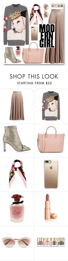 """Modern girl"" by alexa-girl2 ❤ liked on Polyvore featuring A.L.C., Dolce&Gabbana, Jimmy Choo, Casetify, Gucci, Smith & Cult and modern"