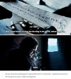 So much love for Lyanna Mormont!
