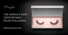 Discover ESQIDO's mink false eyelashes. Meticulously handcrafted, every pair is incredibly soft, lightweight, stunningly beautiful, and natural looking.