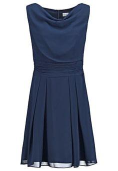 Cocktailkleid / festliches Kleid - schwarzblau