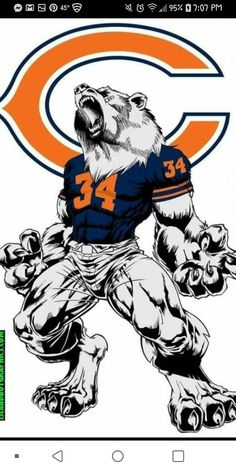 Need some grilling gift ideas? ✩ Check out this list of creative present ideas for bbq and grilling fans Chicago Bears Tattoo, Nfl Chicago Bears, Chicago Blackhawks, Chicago Football, Nfl Bears, Bears Football, Football Pics, Football Outfits, Football Jerseys