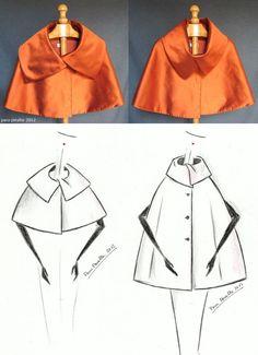 """NEW """"Funghi"""" cape pattern...<3 Deniz <3"""