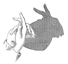 Antique Images: Free Vintage Graphic: Vintage Rabbit Shadow Puppet