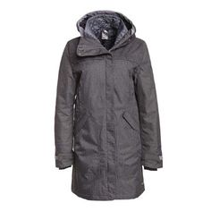 adidas | W HT LONG PARKA Women | tech grey f12-phantom S09