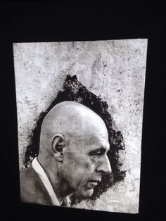 "Arnold Newman ""Jean Dubuffet 1956"" Photography 35mm Art Slide"