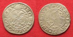 1550-1560 Schweiz - Uri, Schwyz & Unterwalden Swiss URI, SCHWYZ & UNTERWALDEN Groschen ND(16th cent.) silver VF+ # 14146 VF+