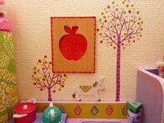 子供部屋のシンボルツリー、マスキングテープで作った木について、 「どんな種類のマスキングテープをつかっているのか?」 って質問があったので、調べてみま... Washi Tape, Kids Bedroom, Kawaii, Kids Rugs, Display, Frame, Cute, Projects, Home Decor
