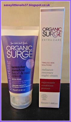 SassyLittleNails: Organic Surge products review! Organic Surge loves my skin!