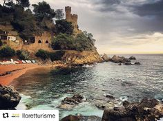 Avui us desitgem un feliç #diamundialdelturisme compartint aquesta foto de la nostra meravellosa #LloretdeMar. A Water World també estem molt #orgullososdelloret Imatge:  #viulloret #costabrava Costa, Water, Outdoor, Gripe Water, Outdoors, Outdoor Games, The Great Outdoors