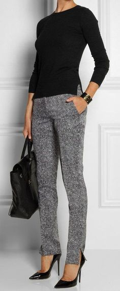 33 trendy business casual work outfit for women 26 – JANDAJOSS.ME 33 trendy business casual work outfit for women 26 – JANDAJOSS.ME,Work outfits women 33 trendy business casual work outfit for women 26 –. Best Business Casual Outfits, Casual Work Outfits, Mode Outfits, Work Casual, Winter Outfits, Outfit Work, Casual Pants, Black Outfits, Summer Outfits