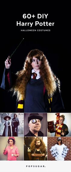 We've rounded up the most amazing Harry Potter costumes you can DIY — from ones that are more obv . . . ious, to the ones that only true Potterheads will appreciate.