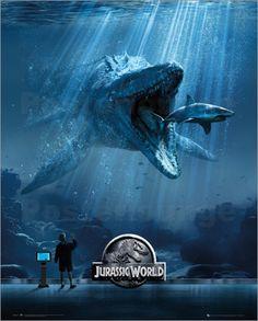 Poster #JurassicWorld - Mosa One Sheet - aktuelle #Filmposter zum Erfolgshit
