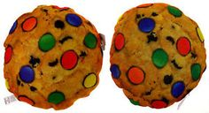 Lot 2 Chocolate Chip Cookie Candy Pillow Food Fight Soft Throw Realistic Toy NEW Candy Pillows, Food Pillows, Best Pillow, Gummy Bears, Food Coloring, Chocolate Chip Cookies, Gingerbread Cookies, Toys, Fun