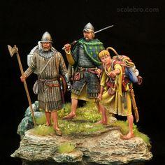 Character Art, Character Design, Scotland History, Irish Warrior, Celtic Warriors, Picts, Dark Ages, Military Art, British History
