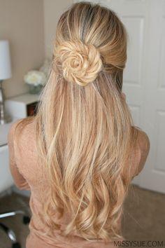 Fishtail Braid Flor //  #Braid #Fishtail #Flor