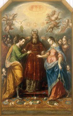 Cristóbal_de_Villalpando_-_The_Betrothal_of_the_Virgin_to_Saint_Joseph_-_Google_Art_Project.jpg (1499×2400)