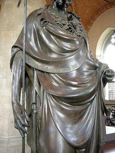 Lorenzo Ghiberti, San Giovanni Battista, 1412-16, particolare, Museo di Orsanmichele, Firenze