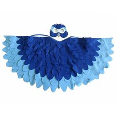 Kids Blue Macaw parrot costume