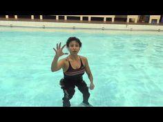 Aqua Instructor tip #8 Straight Leg Kicks to the back - YouTube