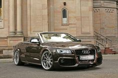 Changed my mind... lol Chocolate Brown Audi A5 2.0TFSi Cabriolet - Chocolate Brown?? Metallic chocolate brown?? That's why I wanted an Audi way back in 2006!!