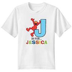 Elmo Initial Alphabet T-Shirt