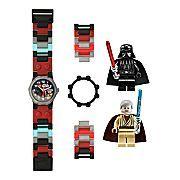Lego® Kids Star Wars Darth Vader & Obi-Wan Minifigure Watch Set