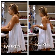 lauren conrad hair I really love this dress Lauren Conrad wore on season 3 of The Hills! Lauren Conrad The Hills, Lauren Conrad Hair, Lauren Conrad Style, Celebrity Casual Outfits, Celebrity Style, 2000s Fashion, Fashion Outfits, Running Errands Outfit, Celebs