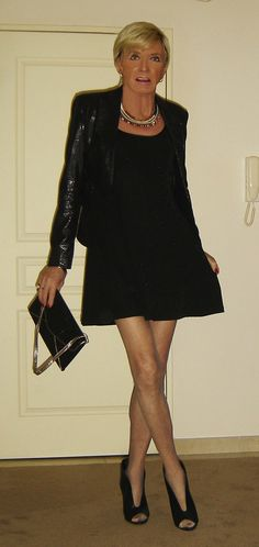 black party outfit