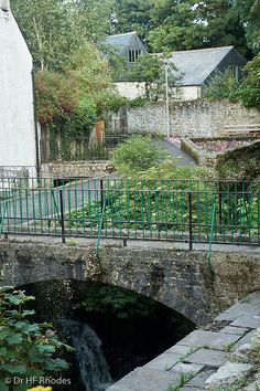 The leat by the mill