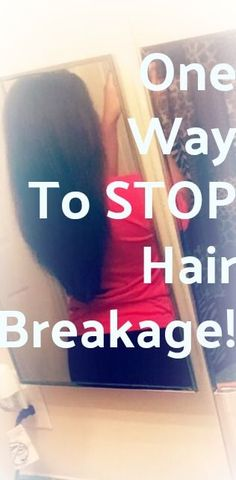Do you dream of having longer hair? Struggling to grow your hair past a certain length and wonder if there are hair growth products to help the process? Hair breakage is the main cause of not retaining the length of our hair! Check out the ONE product I added to my hair regimen years ago, that stopped my hair breakage for good! #hairgrowth #naturalhair #longhair #haircare #hairbreakage