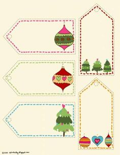 FREE Printable Holiday Gift Tags & More | The Stir
