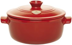 Emile Henry 4.2 Quart Flame Dutch Oven - Rouge Red