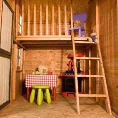 Mercia Double Storey #Playhouse interior