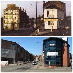 Corner of Garscube rd and Firhill rd #Glasgow #Maryhill #LostGlasgow #BeforeandAfter #Why #OldGlasgow