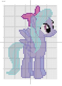 Flitter by Stinnen on DeviantArt Bead Loom Patterns, Crochet Stitches Patterns, Perler Patterns, Crochet Chart, Beading Patterns, Embroidery Patterns, Cross Stitch Designs, Cross Stitch Patterns, Cross Stitching