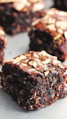 Easy Almond Joy Brownies
