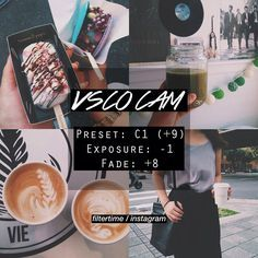 100 VSCO Filter Setting - Click this link for more - Tap on the link to see the newly released collections for amazing beach bikinis! Fotografia Vsco, Vsco Hacks, Vsco Effects, Best Vsco Filters, Vsco Feed, Vsco Themes, Photo Editing Vsco, Photography Filters, Photography Tips