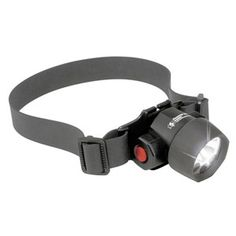 A hybrid LED/Xenon hands-free flashlight. The 2620 gives you the option of using the Xenon lamp for intense bright light or 3 LED to conserve battery life. The HeadsUp Lite 2620 is perfect for hiking, camping, or for any task that require both hands.