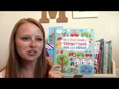 Usborne Very First Book of Things to Spot: Out and About - YouTube @UsborneBookBattalion on Facebook, YouTube, and Instragram! www.UsborneBookBattalion.com