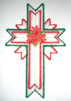 Free Plastic Canvas Cross Patterns | ... design-your-own Christmas Cross Challenge, which I posted on Facebook