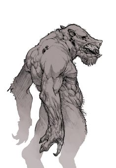 Pigman of Brae Bridge- American cryptid: a pig-like or chimeric creature of Denton, Texas. He likes to throw rocks, grunt, and scare young lovers making out in a popular make-out spot. He was either a guy who got bitten by a rabid hog and turned into a monster, or was a guy who was left deformed by the gang of Texas cowboys who cut his nose off and carved his mouth.
