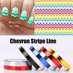New Arrival Hot 1pc DIY Roll Nail Art Striping Tape Sticker Colorful Nail Art Tape Line Stickers Lines Decoration