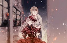 Tatara and Anna // K Project K Project Anna, Project Red, I Love Anime, Awesome Anime, Seven Knight, Return Of Kings, Cartoon N, Anime Crossover, Anime People