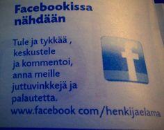 Jyväskylän seurakunnan Henki & elämä -lehti Facebookissa