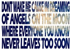 PRESS PLAY ▶ Thriving Ivory - Angels on the Moon Lyrics