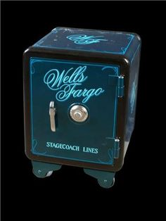 Wells Fargo Restored Antique Safe